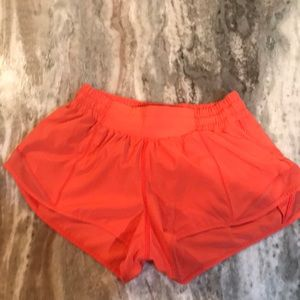 Lululemon coral shorts!